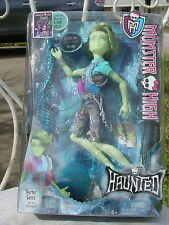 MONSTER HIGH PORTER GEISS MALE DOLL MINT IN BOX HAUNTED MOVIE CHARACTER 2015 na