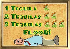 Magnet funny 1 tequila 2 tequilas 3 tequilas floor worms for 1 tequila 2 tequila 3 tequila floor lyrics