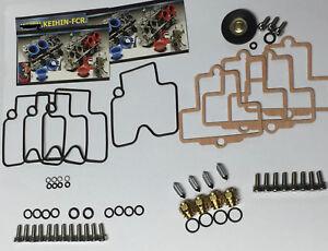 Kawasaki-ZX7R-ZX-7R-Keihin-Fcr-Vergaser-Umbau-Set-Edelstahl-Schrauben-Zx-7R