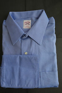 Point Shirt Msrp235 Nwt 5 16 Brooks 37 Blue Iron Brothers Non Collar qzVSUMp