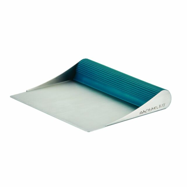 Rachael Ray Tools Bench Scrape Shovel MARINE BLUE Cake Scraper NEW Teal