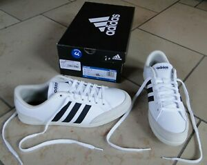 ADIDAS Caflaire - Sneakers homme, taille 44, blanc - NEUF