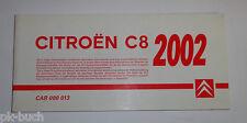 Información técnica/Libro de datos citroen c8 stand 2002