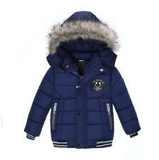392629126c12 Kid Baby Boy Girl Long Sleeve Down Jacket Winter Warm Hooded Ear ...