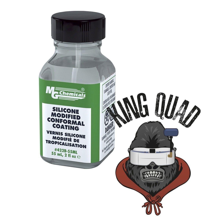 Mg Mg Mg Chemicals silicona capa conformal 55 Ml (Drone/Quad impermeabilización) ff115d