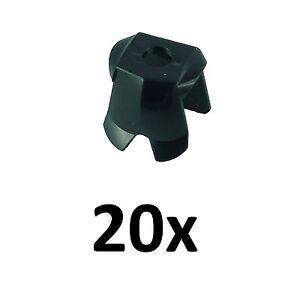 Lego-20-schwarze-Brustpanzer-Ruestung-Ritterruestung-schwarz-Neu-black-Breastplate