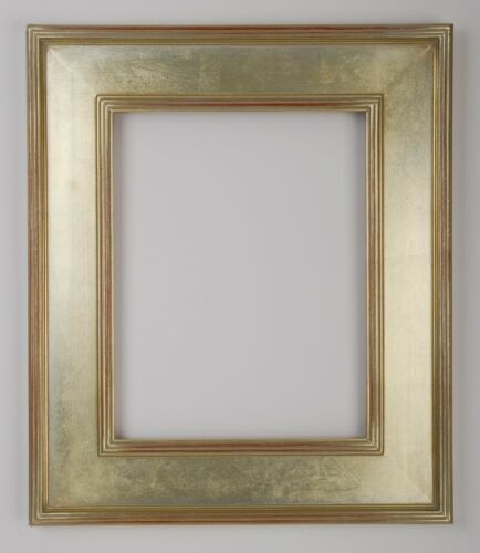 Beautiful Frame * 9 x 12  Arts /& Crafts Picture Frame HandApplied Silver Leaf