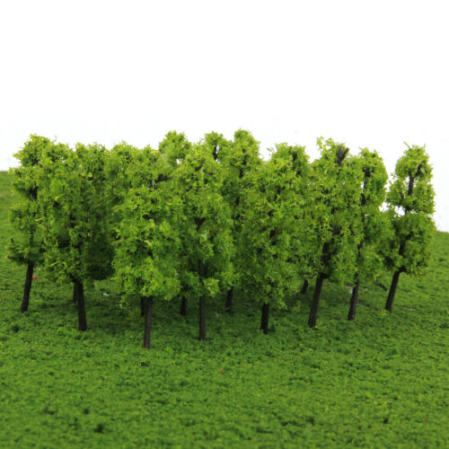 20x Model Tree Train Railway Forest Scenery Layout N Scale Dark//Light Green