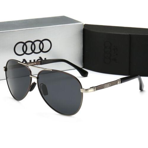 2019 New Audi Brand Men/'s Sunglasses Polarized Classic 100/%UV400 Brand Box XPD8