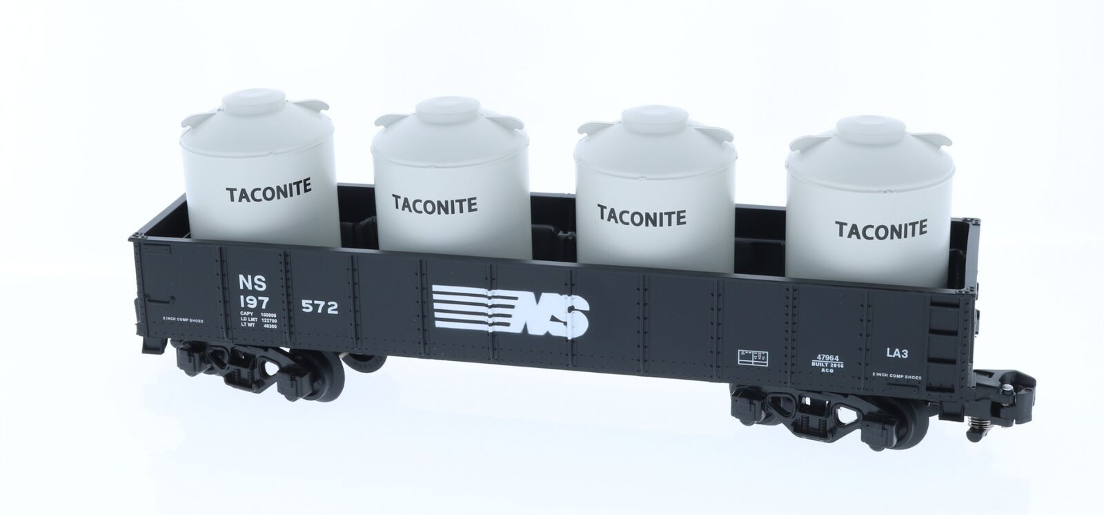 Lionel American Flyer Norfolk Southern Gondola Containers Train (5 Piece)