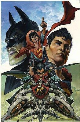 DC 3000 print run! Super Sons #1 by Simone Bianchi UK Exclusive NM 9.6