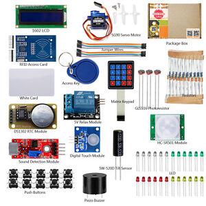 RFID Security Starter Learning Kits 1602 LCD Sensor Resistor