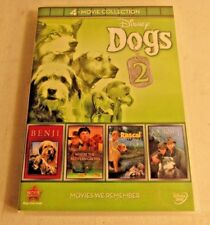 Disney Dogs 2: 4-Movie Collection (DVD, 2012, 4-Disc Set)