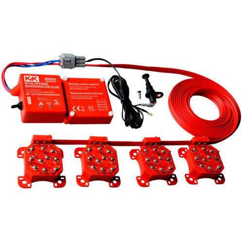 K/&K Marderabwehr M9900 Marderschutz Hochspannung Batteriebetrieb Wasserdicht