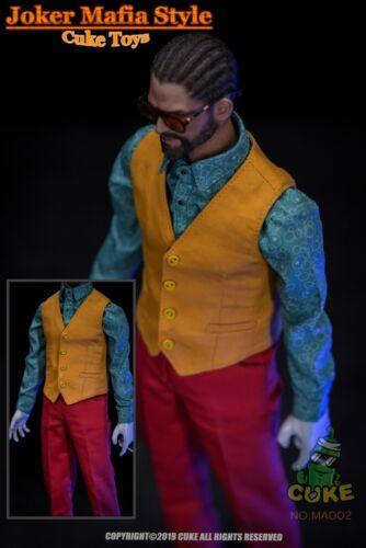 1//6 CUKE TOYS MA-002 The Joker Mafia Style Casual Outfit Clothing Model Clown