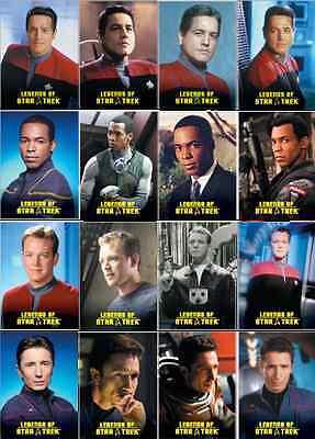 Legends of Star Trek 2012 Complete 36 Card Set