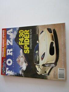 FORZA-MAGAZINE-FERRARI-Issue-89-November-2008-F430-Spider-330-GTC-Mondial-360