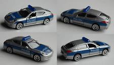 Majorette - Porsche Panamera silbermet./blau POLIZEI