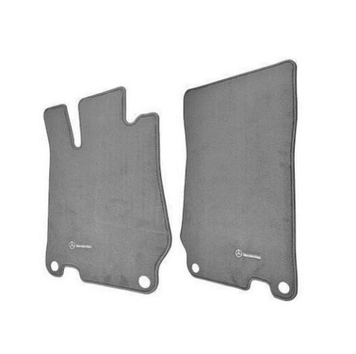Genuine Front Left /& Right Carpeted Ash Gray Floor Mats Set For Mercedes R230