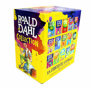 Roald Dahl Collection - 15 Paperback Book Boxed Set 2016 Edition