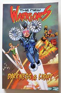 New-Warriors-Darkness-amp-Light-Marvel-Graphic-Novel-Comic-Book