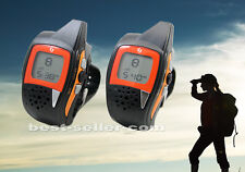 GS-077STUSB PMR,Wrist Watch Walkie Talkie (Licence Free) w FM Radio&USB Chgr,toy
