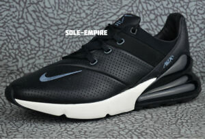 161f4f2650af Nike Air Max 270 Premium Leather AO8283-001 Men s NEW IN BOX Black ...