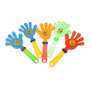 Hand-Clapper-Plastic-Kids-Toy-Party-Favours-Flapper-Novelty-Cheering-Toys-3C