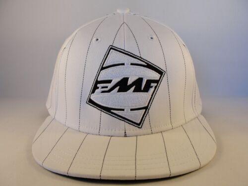FMF Flex Hat Cap Size L//XL White Black Pinstripe