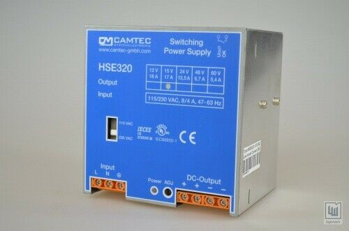 Camtec hse320, hse03201 .15 tlirc, switching power supply
