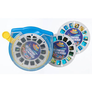 3D-Viewer-SEA-CREATURES-of-the-World-Set-Box-Viewmaster-Marine-Life-3-Reels
