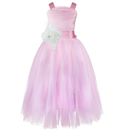 Kids Formal Flower Girl Dress Party Princess Wedding Bridesmaid Pageant Dresses