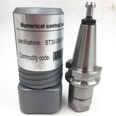 """10000RPM Collet Chuck G2.5 BT30 Holder HSS HRC56-60 CNC ER32 0.0001/"""" 0.003mm"""