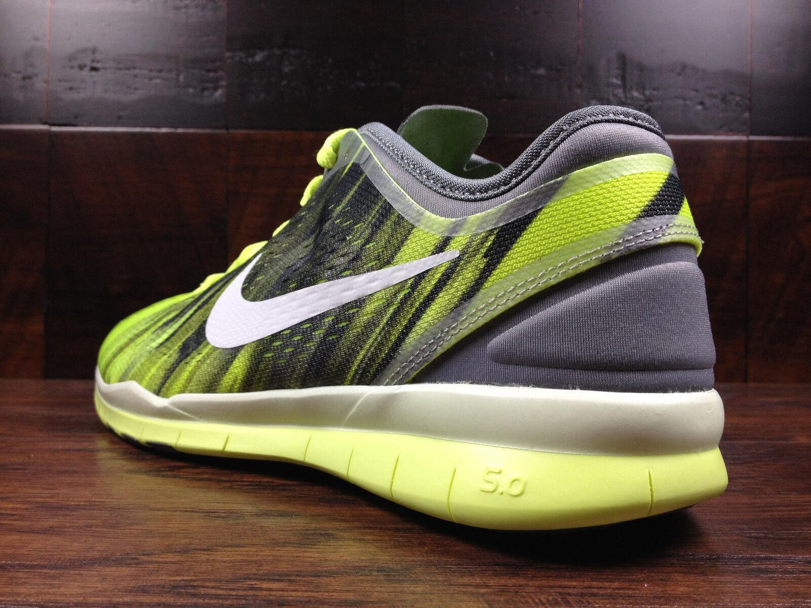 exclusive shoes best deals on amazon Nike Womens Cool Grey Black Volt 5.0 TR Fit 5 Gym Tennis Shoe 9 ...
