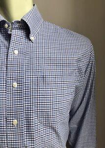 Brooks Brothers Shirt, Bergen Plaid, M (15-1/2, 34), Madison Regular Fit, EUC