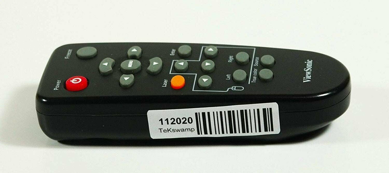 TeKswamp Video Projector Remote Control for ViewSonic PJ503D Black ...