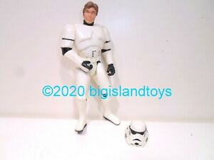 Han Solo Stormtrooper Mail Away STAR WARS Power of the Force POTF MIB NEW