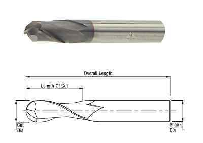 "Cobra Carbide 29404 1//4/"" 6 FL Carbide End Mill Uncoated for Inconel Hard Steel"