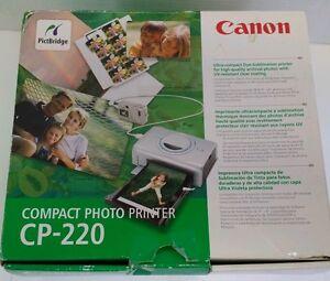 Canon CP-220 Printer Mac