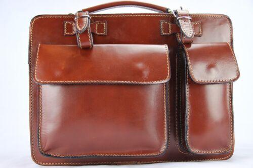 Luxury Sacs portable Brown ordinateur de et travail Briefcase S hdxrtsCBoQ