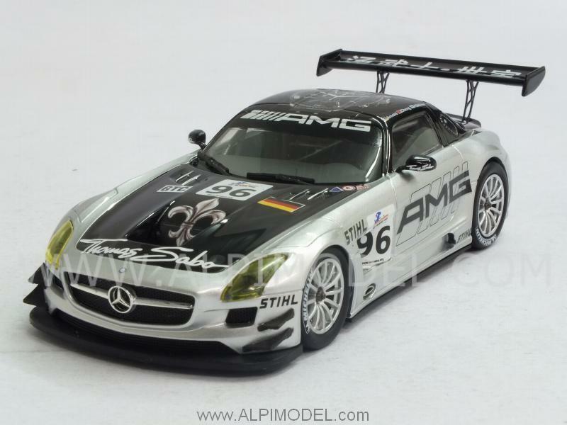 mas barato Mercedes SLS AMG GT3 6h Zhuhai 2011 Mika Mika Mika Hakkinen 1 43 MINICHAMPS 410113296  entrega rápida