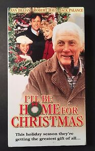Ill Be Home For Christmas Vhs.Details About I Ll Be Home For Christmas Vhs 1997 Ann Jillian Robert Hays Jack Palance