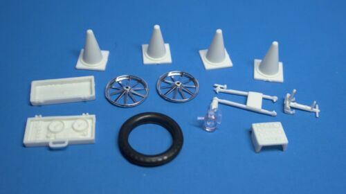 AMT Option Parts Fuel Test Bottle 1//25 Recorder Gauges Pylons Test Wheel