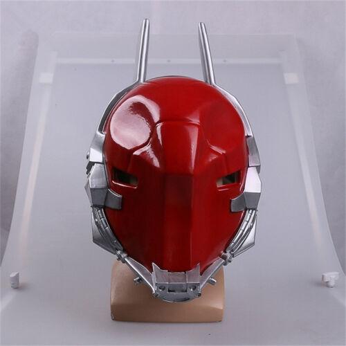 Arkham Knight Cosplay Helmet Batman Game Red Full Head Mask Halloween Party Cool