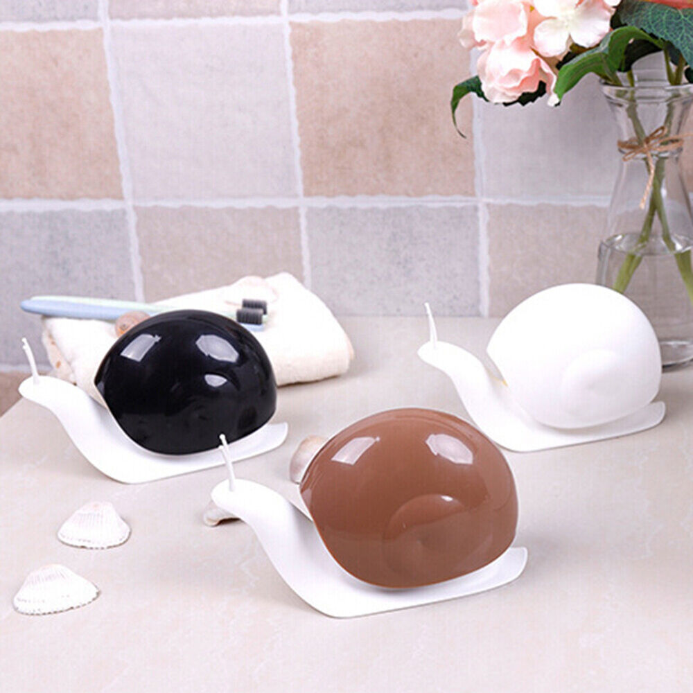 SNAIL SHAPE PRESS TYPE LIQUID SOAP DISPENSER HOME BATHROOM LOTION SHAMPOO WELL Bath