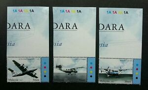 SJ-Air-Transportation-In-Malaysia-2007-Aviation-Aeroplane-stamp-plate-MNH