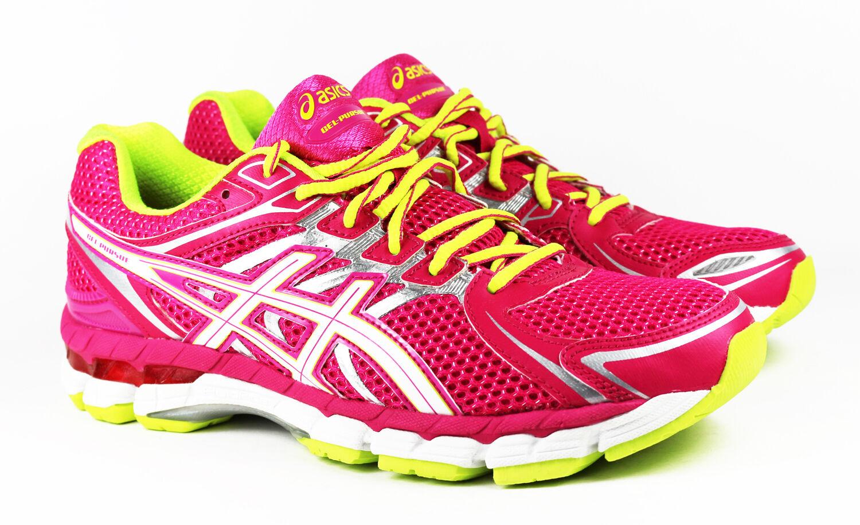 Asics Gel Pursue T498N Cherry Tomato Laufschuhe Running Pink Sneakers