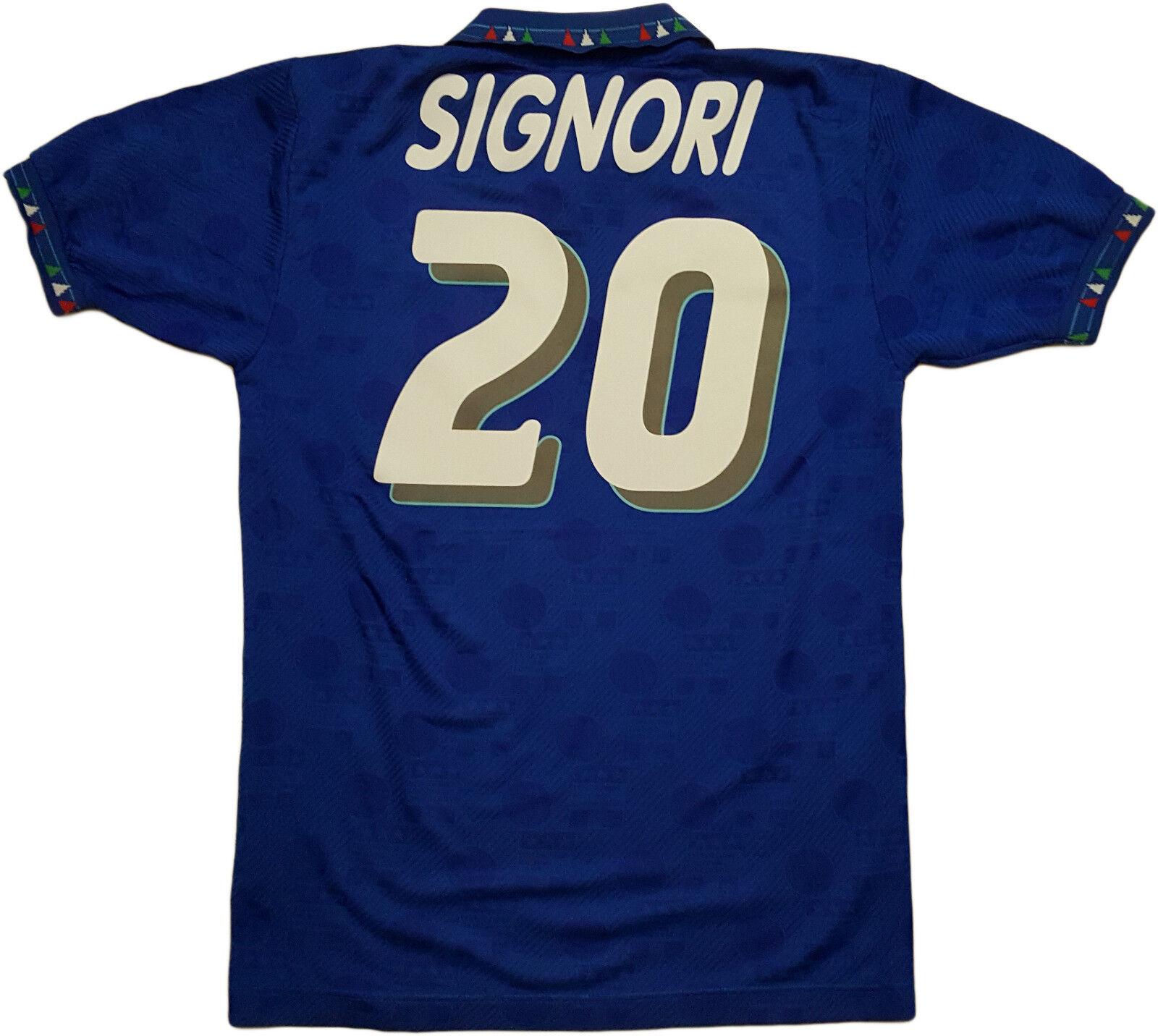 Italia diadora 1994 Signori  20  world cup shirt jersey maglia USA 94 mondiale