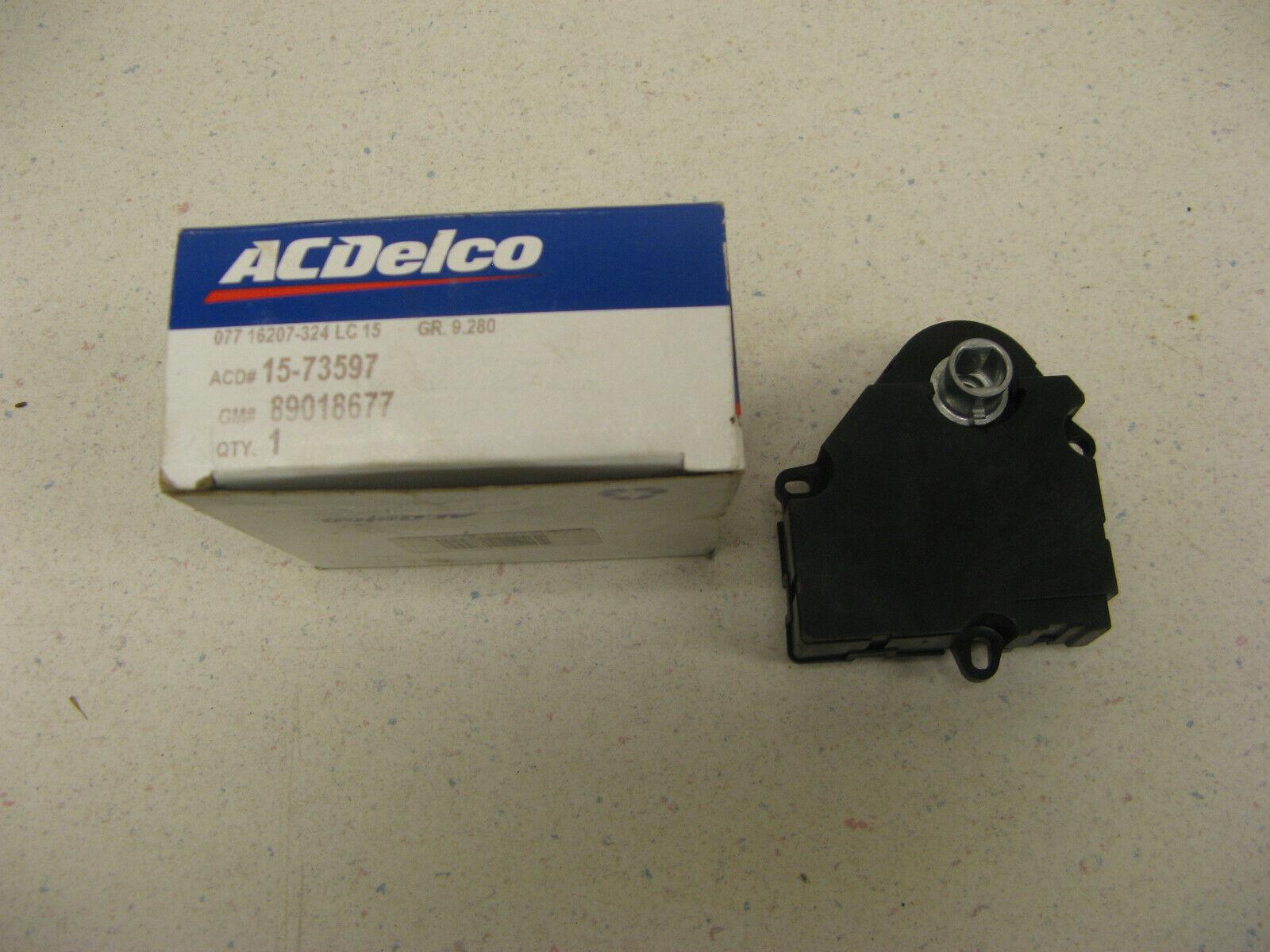 ACDelco 15-73597 GM Original Equipment Air Conditioning Vacuum Actuator