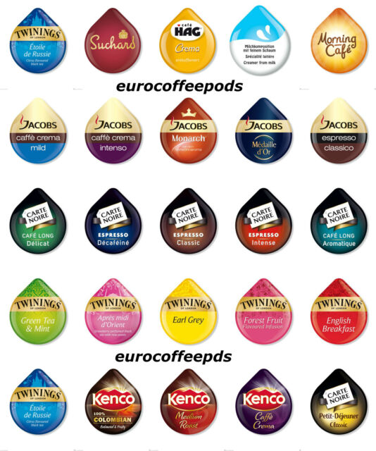 50 X Tassimo T Disc 38 Flavours To Select From Sold Loose Or Choose Your Own